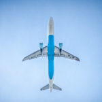 Foto vliegtuig