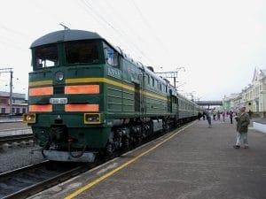 Transsiberie Express traditionele Russische trein