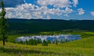 Meer in mongolie