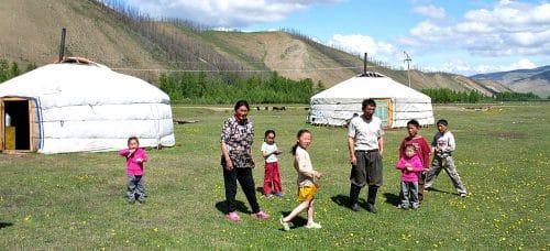 Paardrijtocht Mongolie - Khovsgolmeer