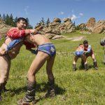 Mongoolse worstelaars - Tsarengoud - Mevo Reizen (Aangepast)