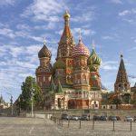Start van de Tsarengoud - Rode Plein Moskou met Basilius Kathedraal