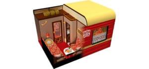 Tsarengoud Transsiberië Express Nostalgic cabine