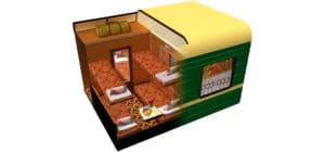 Tsarengoud standaard cabine