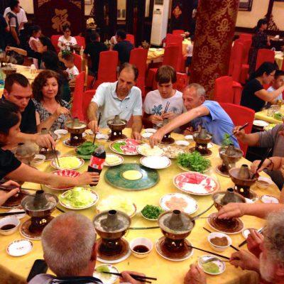 Uitgebreid uit eten in China