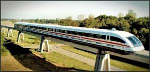 Maglev trainfull