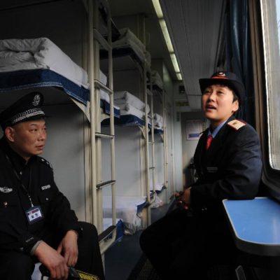 Hardsleeper in een Chinese trein