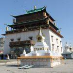 Ghandan Klooster Ulaanbaatar (Mongolie)