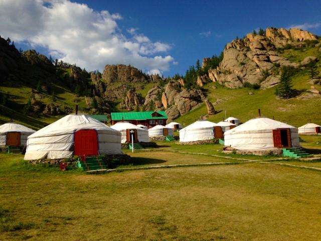 San Ger - yurtkamp - Terelj National Park