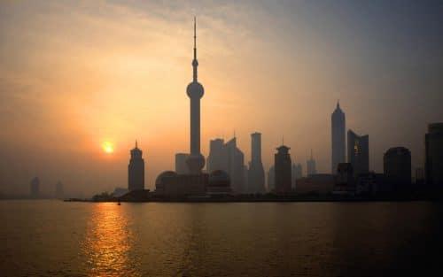 Shanghai,China,Pudong,dawn
