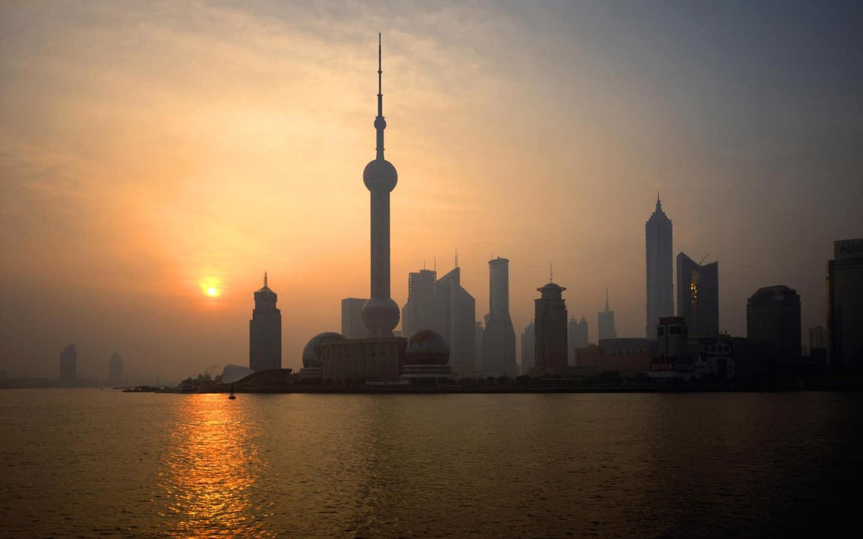 Shanghai,China,Pudong,dawn