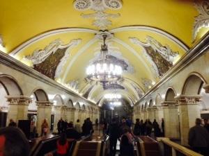 Metro in Moskou