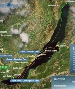 Baikalmeer - boottocht Listvianka