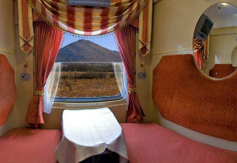 Eerste klasse Transsiberie Express