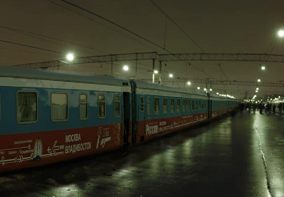 De virtuele Transsiberië Express