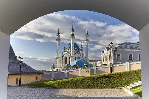 Bouwsteen Kazan - Transsiberië Express