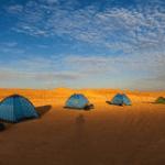 Darwaza - kamperen - Turkmenistan
