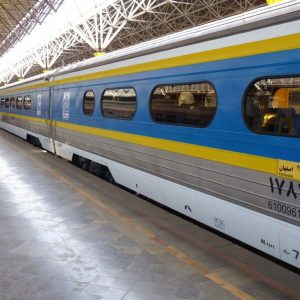 Trein van Teheran - Zijderoute