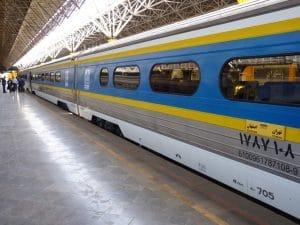 Mevo Reizen - trein van Teheran naar Esfahan - Zijde route (Medium)