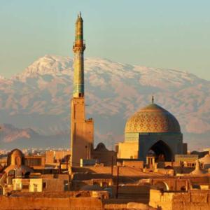 Zijed route treinreis - Iran - Teheran