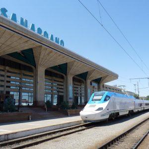 Rondreis Iran - trein naar Tashkent - Zijde route