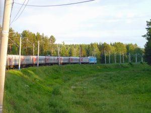 Transsiberie trein - de Rossiya naar Vladivostok