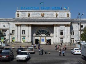 Treinstation Almaty (Medium)