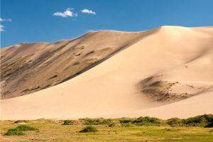Zandduinen - zuid Mongolie - gobi