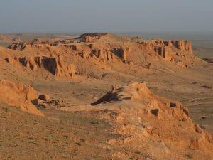 Bayanzag - tour door Mongolië - Gobi