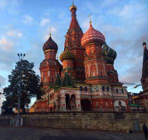 Basilius Kathedraal Moskou - Stedentrip Moskou