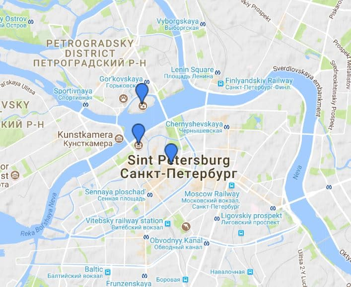 Stedentrip St Petersburg