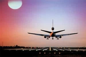 vliegtuig naar Armenië