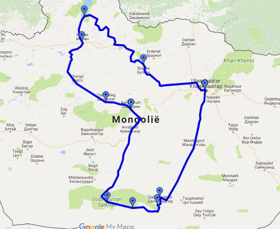 Rondreis-Mongolie