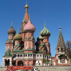 Basilius cathedraal Moskou