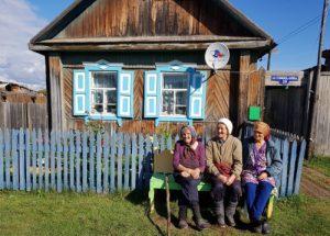 Baboeska's in Taishet - BAM-spoorlijn