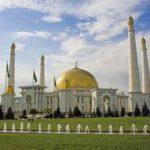 Registan Express - Ashgabat Turkmenbashi moskee Turkemenistan