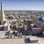 Registan Express - Khiva madrassa Oezbekistan