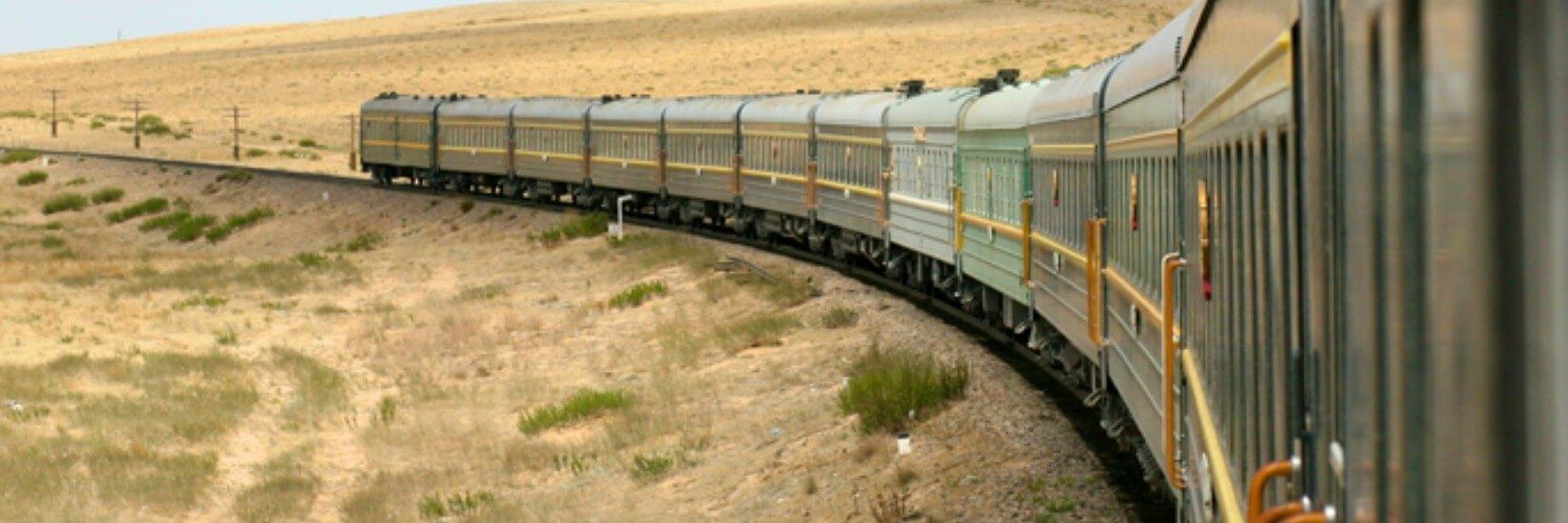 Transmongolie Express naar Beijing