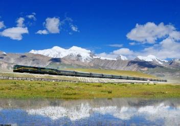 per trein naar Lhasa en Tibet