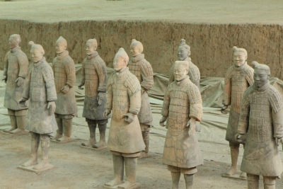 Terracottaleger Xian Himalaya Express