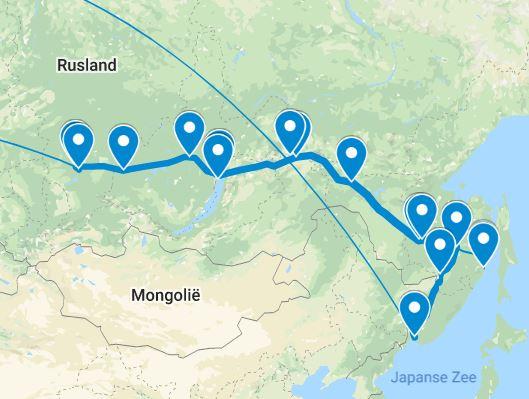 BAM Spoortlijn Google-Maps