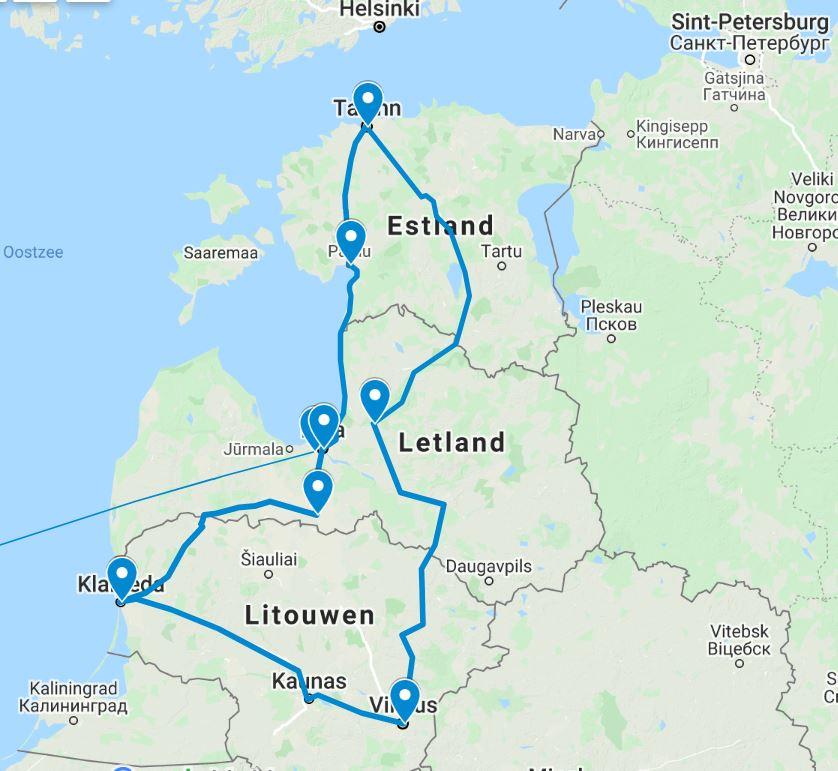 Fly drive Baltische Staten