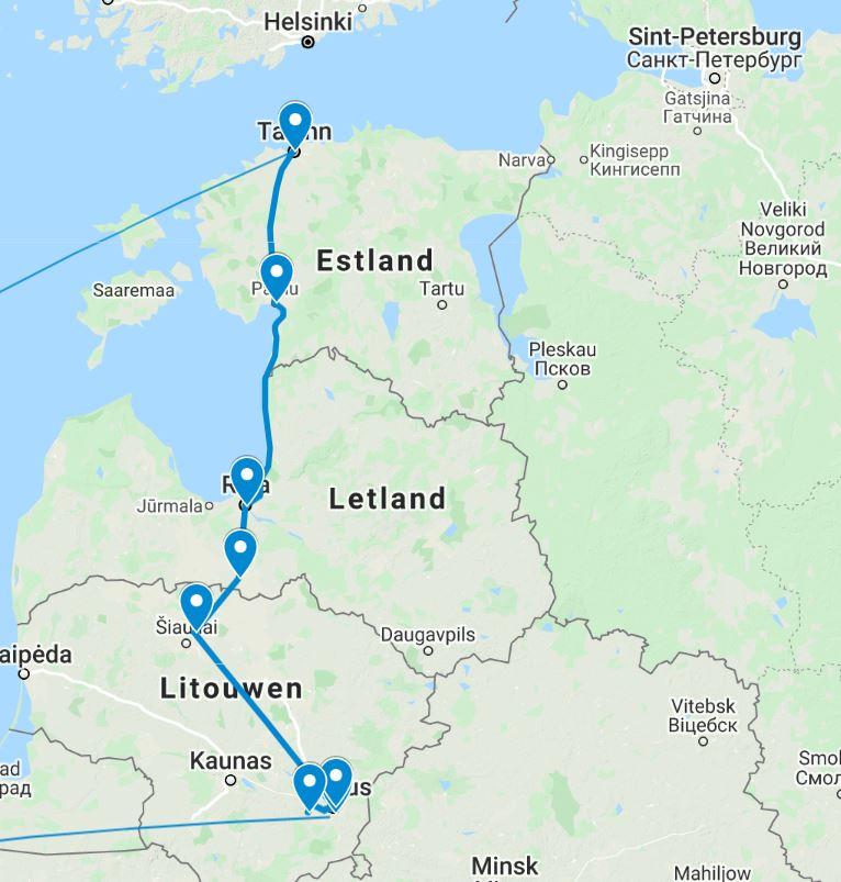 Groepsreis Baltische Staten