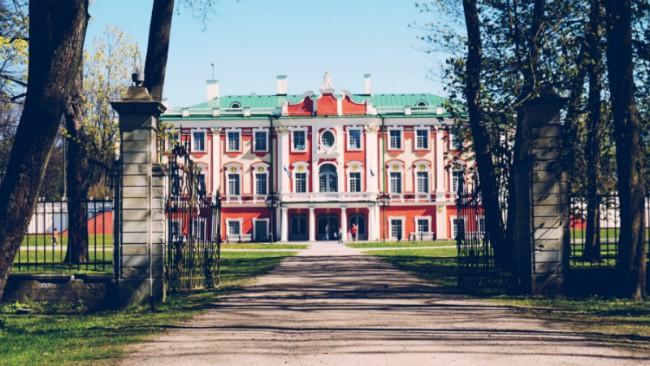 Kadriorgpark en het KUMU museum