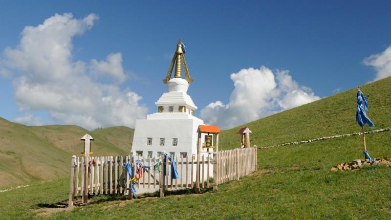 Steppe Stoepa Mongolië