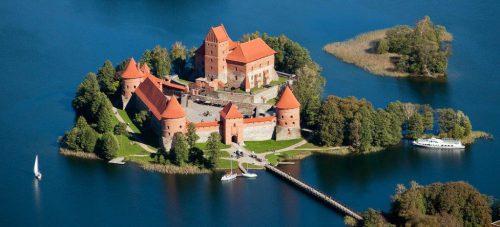 Vilnius - Trakai kasteel - fly drive Baltische staten - Mevo Reizen