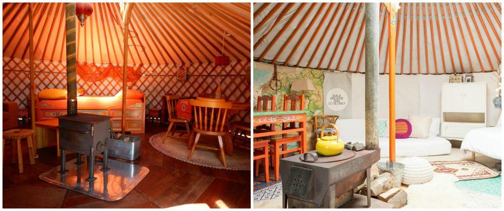 Verblijf in een yurt