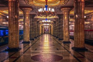 Metrostation Moskou - Mevo Reizen