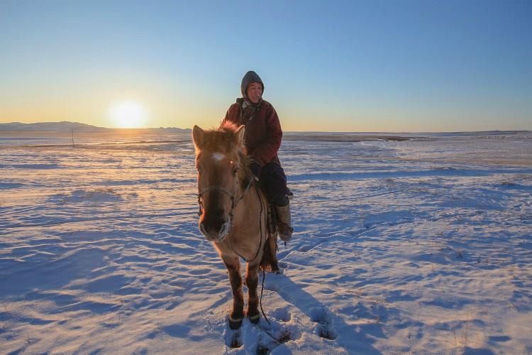 Overnachten bij een nomadenfamilie