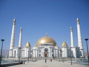 Ashgabat Turkmenbashi Moskee - Mevo Reizen